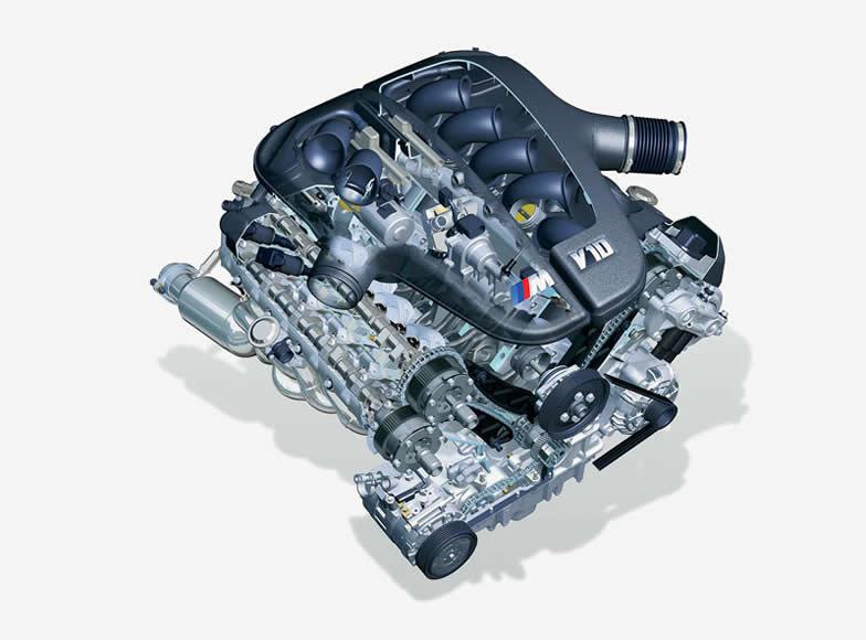Двигатели на бмв м5
