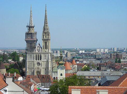 здания Загреба